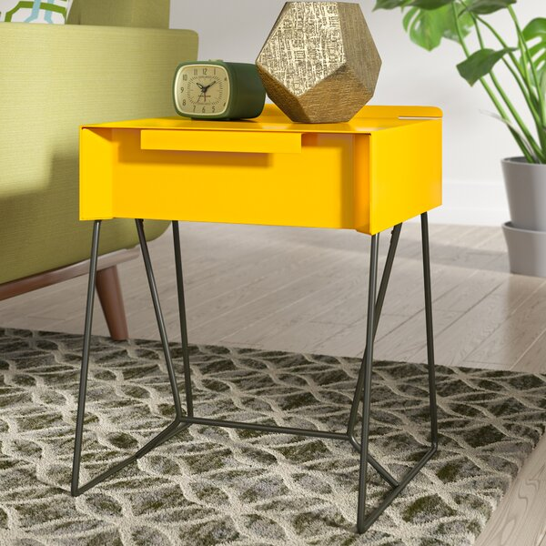 Seaver End Table With Storage By Wrought Studio