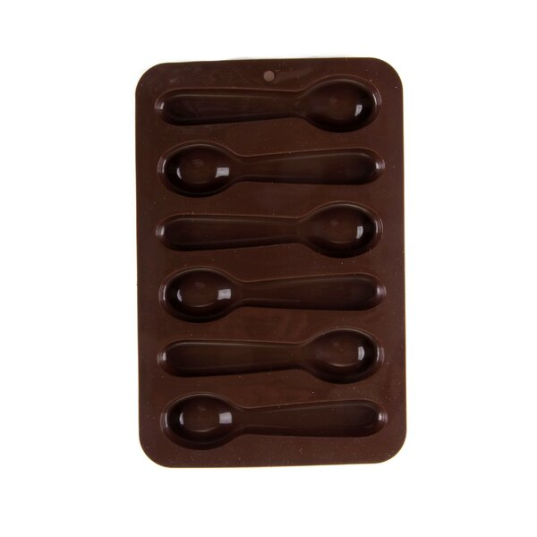 Silicone Spoon Mold (Set of 4) by Innova Imports