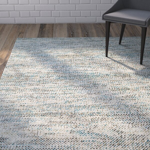 Chianna Handmade Turquoise Area Rug by Zipcode Design