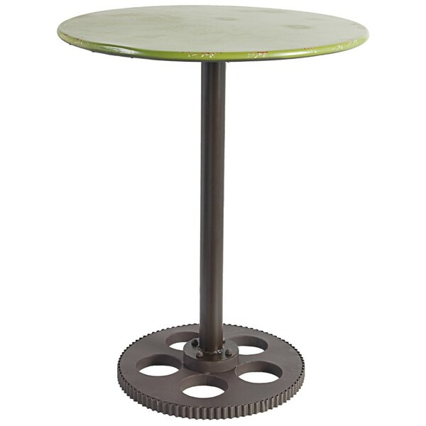 Earby Round Metal End Table by Williston Forge
