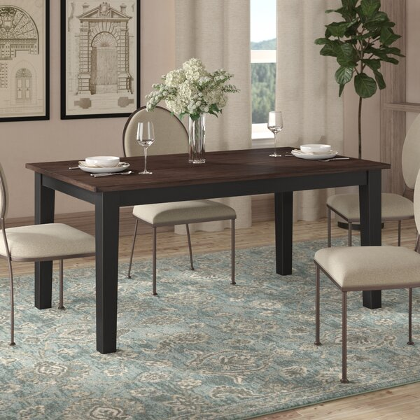 Altamirano Solid Wood Dining Table by August Grove