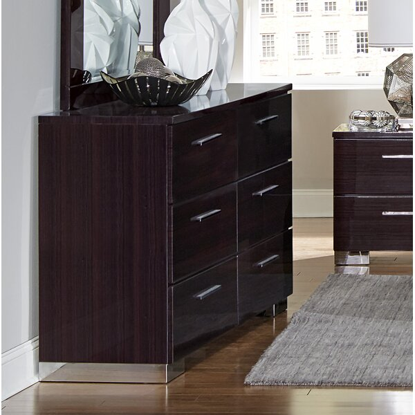 Pearce 6 Drawer Double Dresser By Brayden Studio by Brayden Studio New Design