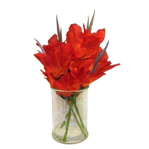 Canna Lilies Floral Arrangement by August Grove