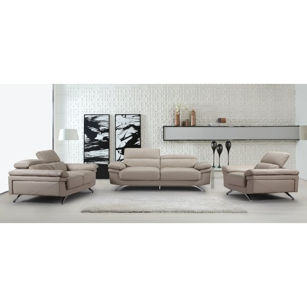 Benita Living Room Set 3 Piece Living Room Set by Orren Ellis