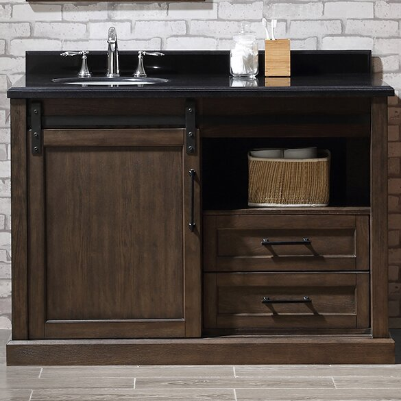Laredo 48 Single Bathroom Vanity Set by Ove Decors