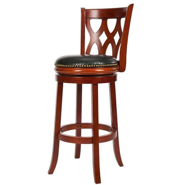 Ethan 29 Swivel Bar Stool by Safavieh