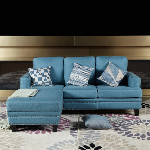 Stay On Trend This Linkous Upholsterd Sofa by Charlton Home by Charlton Home