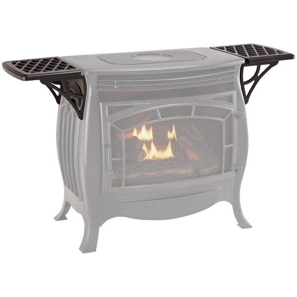 Ventless Gas Stove Steel Shelves By Duluth Forge