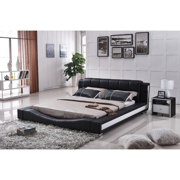 Ginny Upholstered Platform Bed by Orren Ellis
