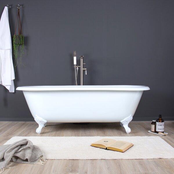 Shirley 67 x 31 Freestanding Soaking Bathtub by Maykke