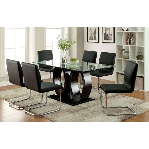 Waller 7 Piece Dining Set by Orren Ellis