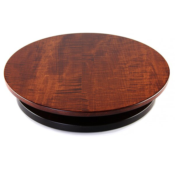 Artisan Woods Tiger Maple Lazy Susan by Martins Homewares