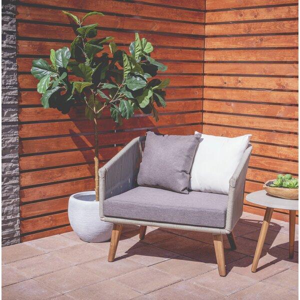 Beach Indoor/Outdoor Aluminum Garden Bench by Bay Isle Home