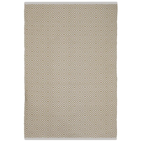 Estate Veria Hand-Woven Almond Indoor/Outdoor Area Rug by Fab Habitat