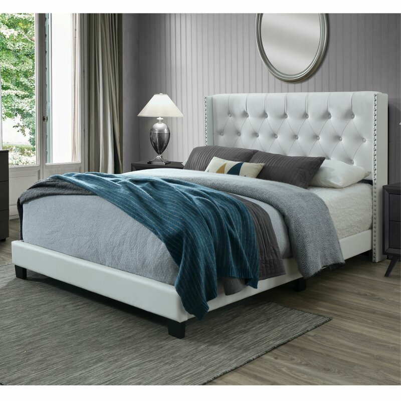 Nadine Queen Tufted Upholstered