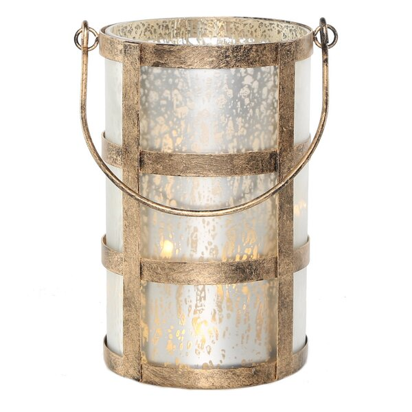 Caged Mercury Lantern by Ophelia & Co.