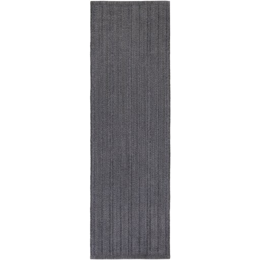 Philip Hand-Woven Black Indoor/Outdoor Area Rug by Williston Forge