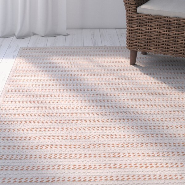 Tidewater Hand-Woven Natural Area Rug by Rosecliff Heights