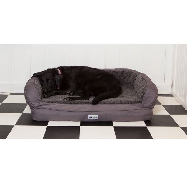 EZ Wash Fleece Headrest Dog Bed Bolster by 3 Dog Pet Supply