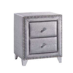 Spence 2 Drawer Nightstand by Rosdorf Park