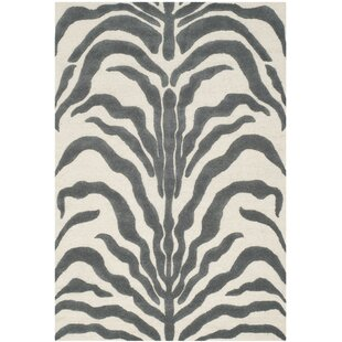 Nahla Hand Tufted Grey Ivory Area Rug