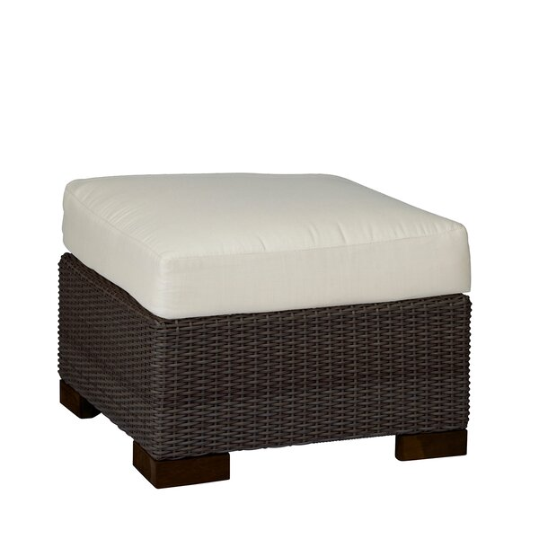 Club Outdoor Ottoman with Cushion by Summer Classics