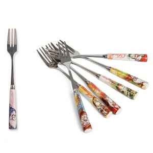 7 Piece Dessert Fork Set