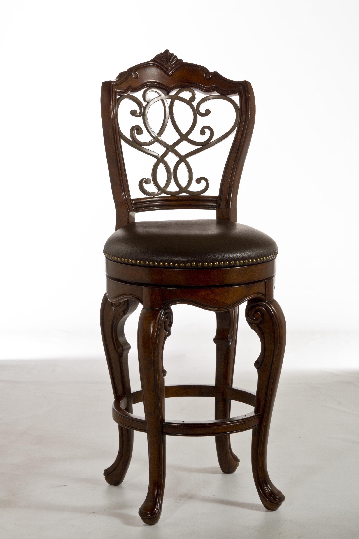 Groovy Encarnacion Bar Counter Swivel Stool Short Links Chair Design For Home Short Linksinfo