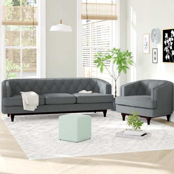 Thomaston 2 Piece Living Room Set by Ivy Bronx