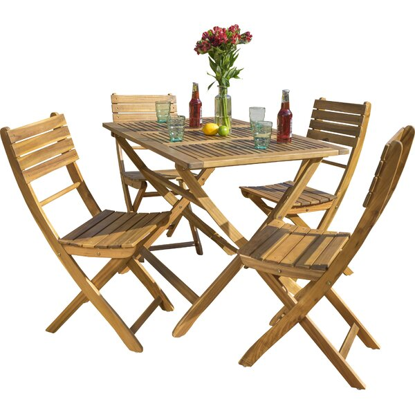 Enola 5 Piece Dining Set by Zipcode Design