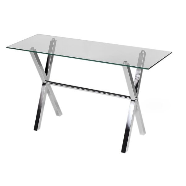 Wade Logan Glass Console Tables