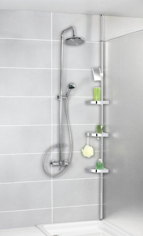 Wenko Freestanding Shower Caddy Amp Reviews Wayfair Co Uk