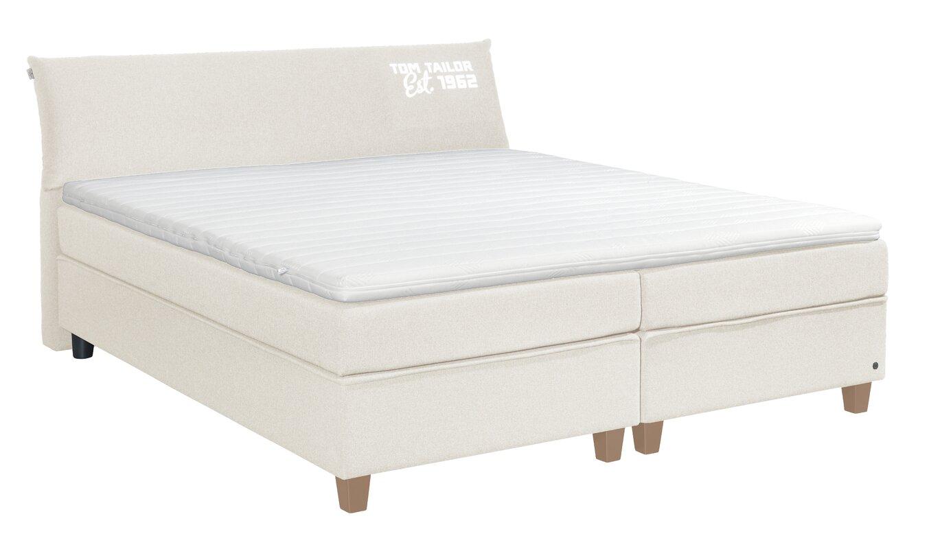 tom tailor boxspringbett color box mit topper. Black Bedroom Furniture Sets. Home Design Ideas