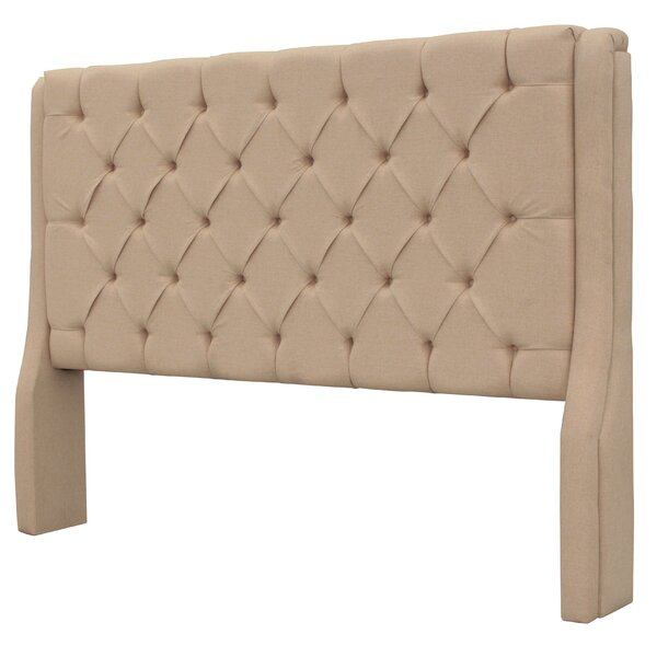 Solar Queen Upholstered Panel Headboard by REZ Furniture