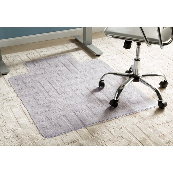 Wayfair Basics Office Low Pile Carpet Straight Chair Mat by Wayfair Basics™