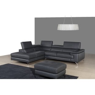 Chambersburg Leather Sectional