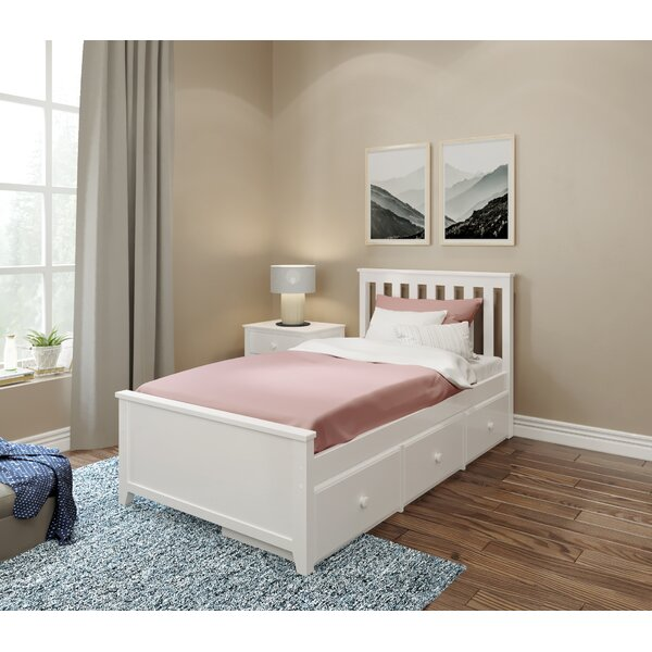 Peterlee Platform Bed With Storage Drawers by Harriet Bee