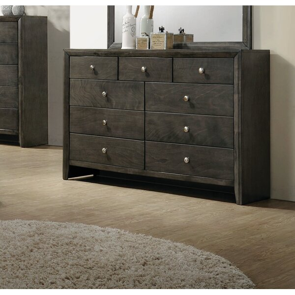 Winfrey 9 Drawer Double Dresser by Foundry Select