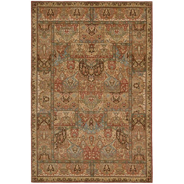 Crownover Wool Brown Area Rug by Darby Home Co