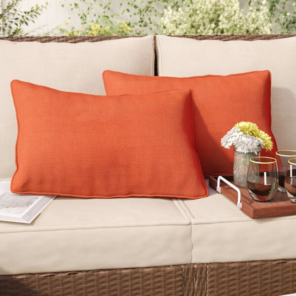 Thorson Outdoor Lumbar Pillow (Set of 2) by Andover Mills| @ $32.99