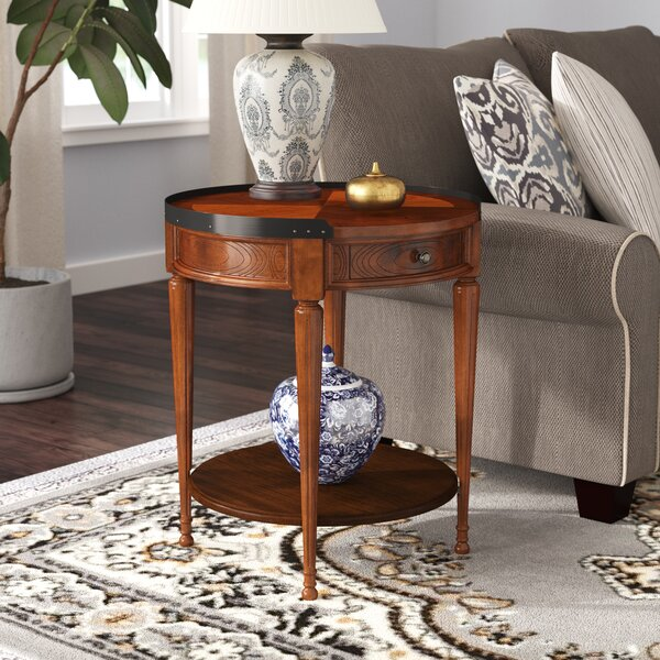 Kahl End Table by Alcott Hill