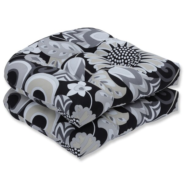 Sophia Indoor/Outdoor Rocking Chair Cushion (Set of 2) by Pillow Perfect