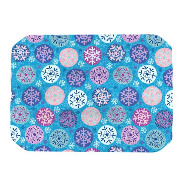 Floral Winter Placemat by KESS InHouse