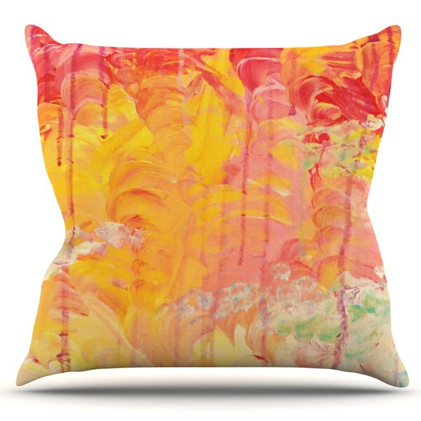 Sun Showers by Ebi Emporium Outdoor Throw Pillow by East Urban Home