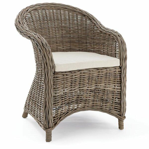 Arnett Arm Chair with Cushion by Laurel Foundry Modern Farmhouse