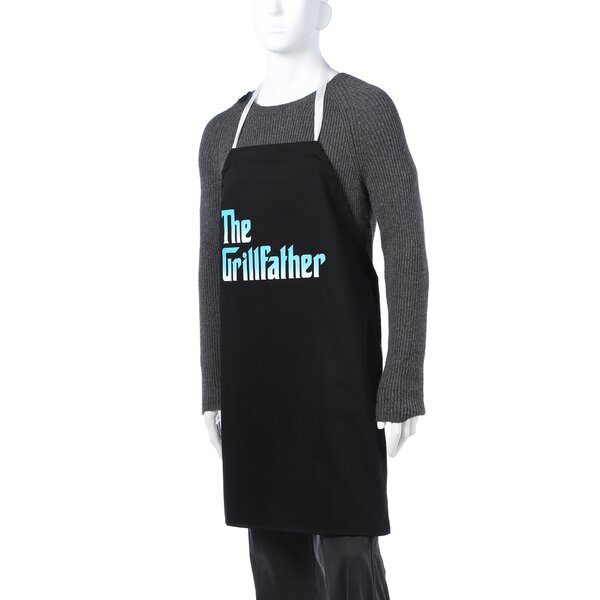 The Grill Father Apron by Attitude Aprons by L.A. Imprints
