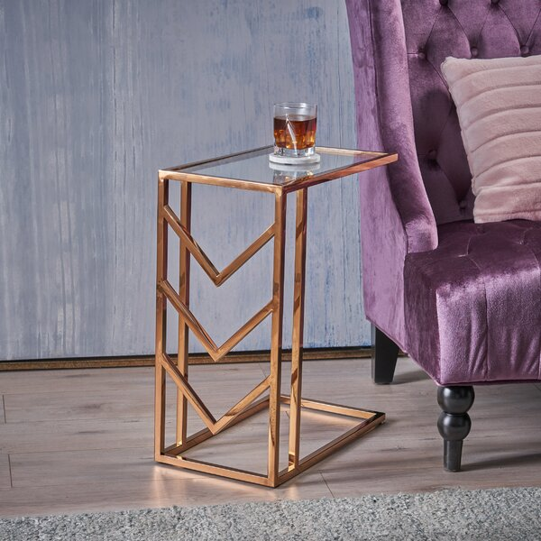 Denison Glam End Table by Mercer41