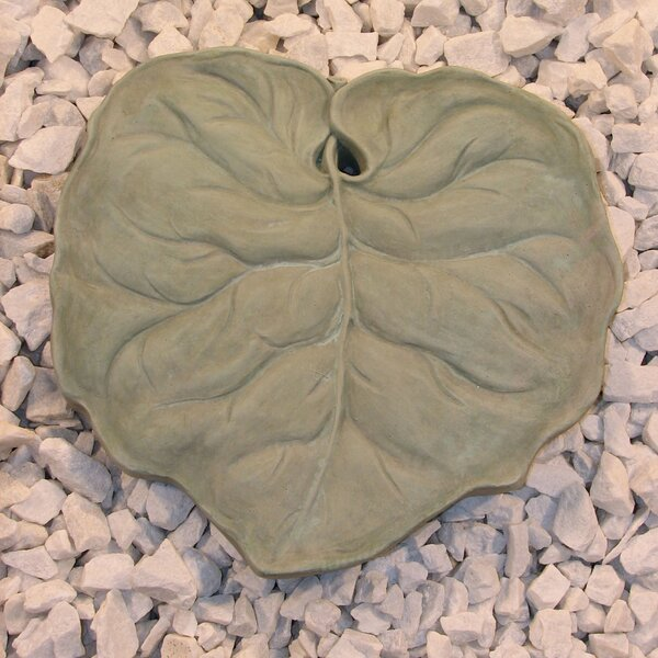 Leaf Stepping Stone by Nichols Bros. Stoneworks