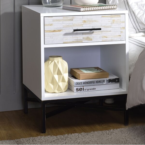 Orben 1 Drawer Nightstand by Brayden Studio