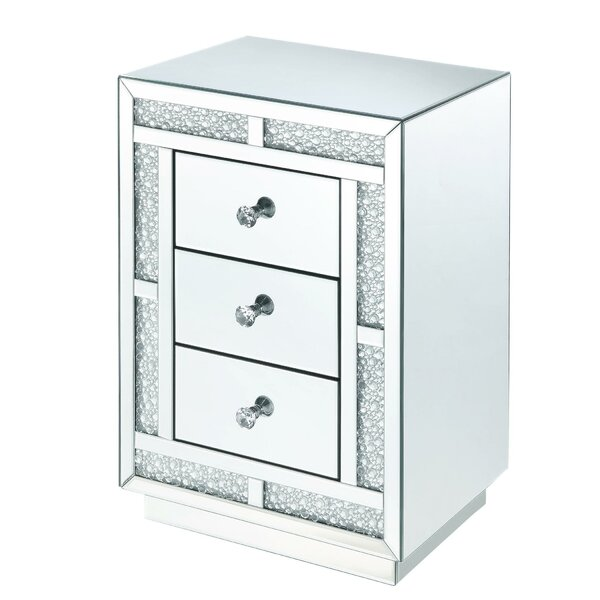 Toombs 3 Drawer Nightstand By Rosdorf Park